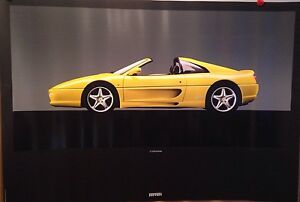 Ferrari F355 GTS N.864/94 Car Poster Extremely Rare! Own It! First