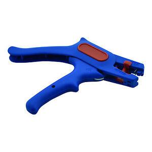 Abisolierzange-190-mm-praezises-Abisolieren-fuer-Kabel-bis-6-mm-Zange-Werkzeug