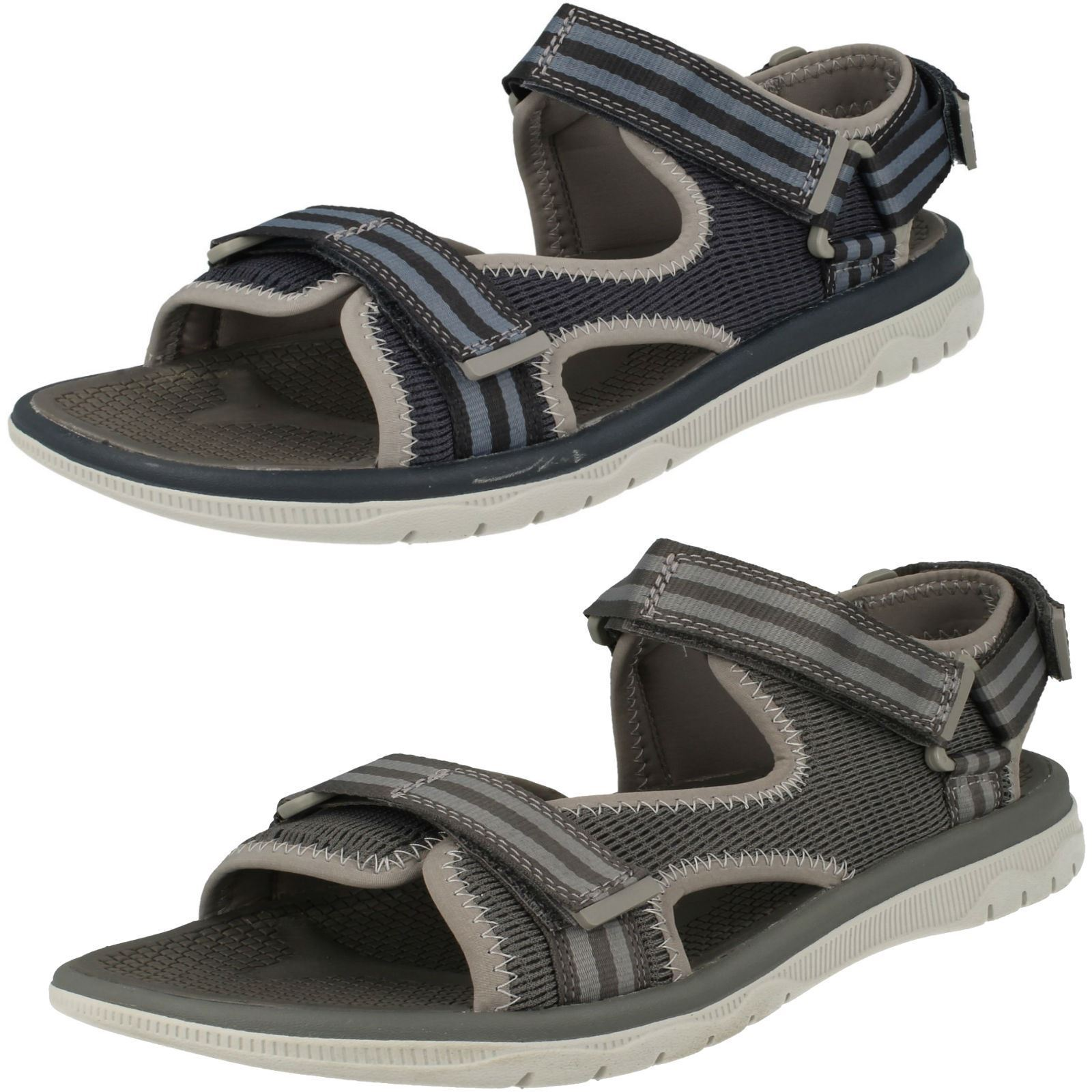 Mens Cloudsteppers by Clarks Sandals - Balta Sky
