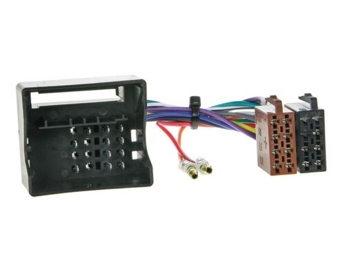 Autorradio kit de integracion 2-din mercedes vito 06-14 cable enmarcar negro