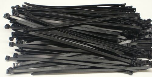 "50PC ZIP TIE CABLE WRAPS 24/"" LONG 3//8/"" WIDE 120LBS BLACK 10X600"