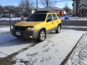 2002 Ford Escape XLT Leather