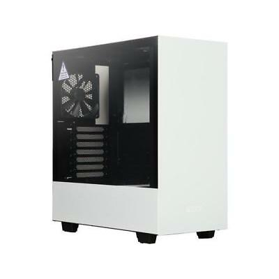 NZXT H500 CA-H500B-W1 Matte White/Black SECC Steel and Tempered Glass ATX Mid To