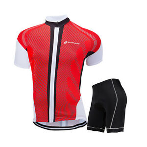 New Mens Bike Cycling Jerseys Set Cycle Short Sleeve Clothing ... aeca80dad