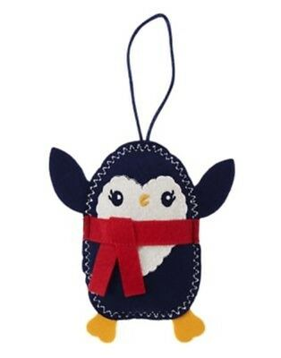 GYMBOREE HOLIDAY SHOP NAVY /& RED SNOWMAN CHRISTMAS STOCKING SOCK 1-SIZE NWT