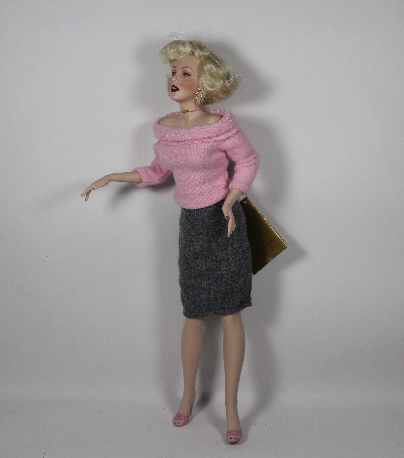 Franklin reliquia muñecas Marilyn Monroe     1993 Suéter Girl