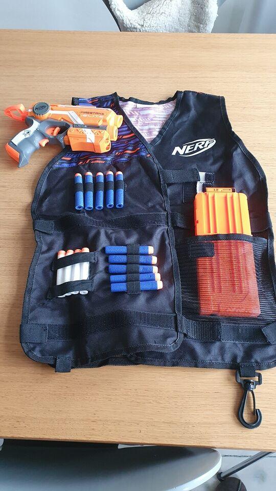 Våben, Nerf vest og firestrike, Nerf