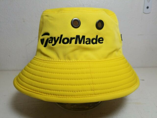 8192d1eaa TaylorMade Yellow RBladez Golf Bucket Hat Cap #OneBucket Size Large XL
