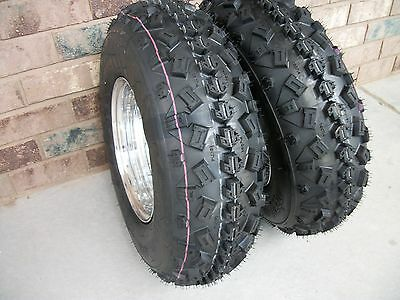 2 21x7-10 21x7x10 Honda TRX 700XX Odyssey FL350 ATV Front Tire Set 6PR