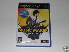 MUSIC MAKER ROCKSTAR for PLAYSTATION 2 'VERY RARE & HARD TO FIND'