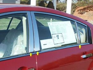 6PC-Stainless-Steel-Pillar-Post-Trim-PP24541-For-NISSAN-MAXIMA-2004-2008