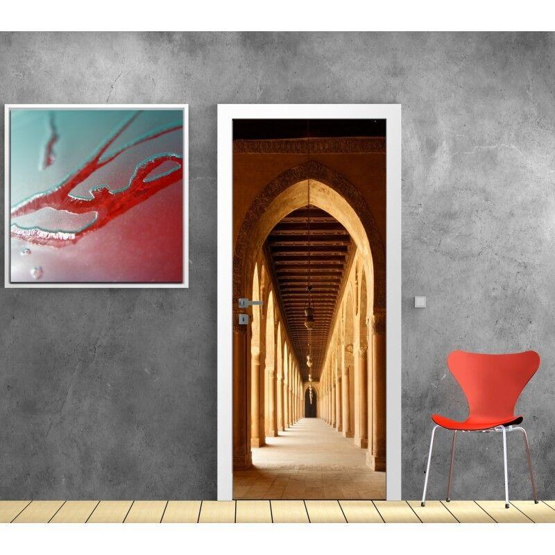 Papier peint porte Couloir arches 610