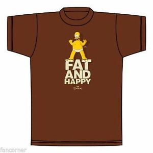 Simpsons-Tee-Shirt-officiel-Homer-Simpsons-fat-and-happy-official-tee-shirt