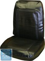 1966 Barracuda Seat Covers Pearl White - Front - Pui