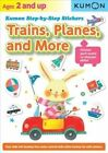 Kumon Step-By-Step Stickers: Trains, Planes, and More by Kumon Publishing North America, Inc (Paperback, 2014)