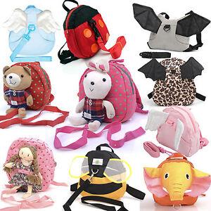 Kids-Safety-Harness-Reins-Toddler-Back-pack-Walker-Buddy-Strap-Walker-Baby-Bag