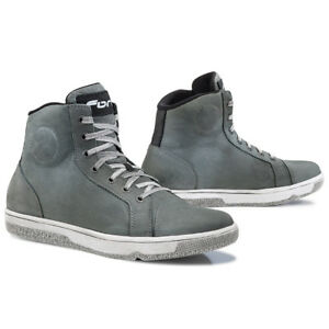 Forma-Slam-Dry-motorcycle-boots-mens-grey-all-sizes-urban-city-street