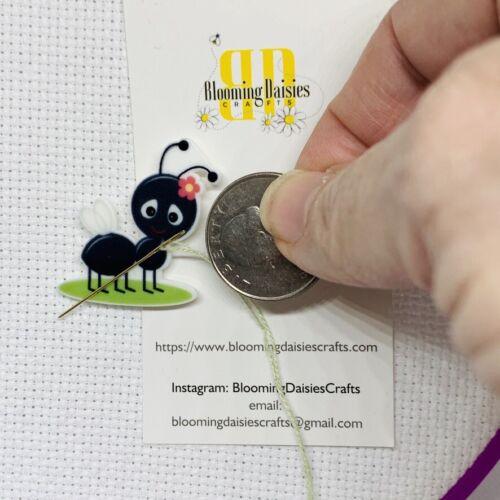 Fridge Magnet Picnic Ruiner Magnetic Needle Minder Cross Stitch Ant