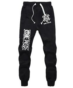 Unparteiisch Cosplay Trafalgar Law One Piece Anime Manga Sports Hose Pants Trousers Baumwolle SchöNer Auftritt Kostüme