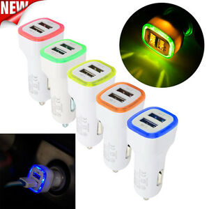 3-1A-LED-USB-Dual-2-Port-Adapter-Socket-Car-Charger-For-iPhone-Samsung-HTC-iPad