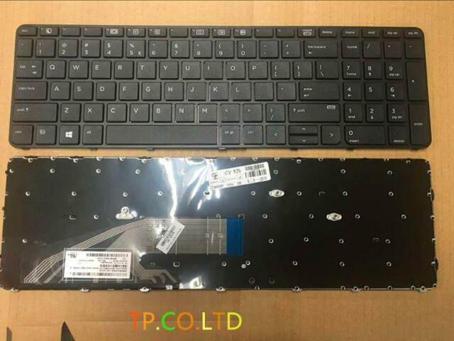 NEW for HP PROBOOK 450 G3 455 G3 470 G3 KEYBOARD NO BACKLIT with Frame US