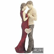 More Than Words Happy Anniversary Figurine in Gift Box