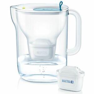 BRITA-Style-XL-Maxtra-Plus-3-6L-Water-Filter-Fridge-Jug-with-1-Cartridge-Blue
