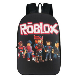 Game Roblox Student Boy s School Bag Bookbag Men s Backpack Knapsack ... b34f7b4a22a10