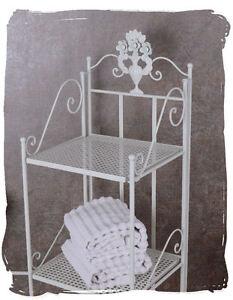 Nostalgie Badezimmer | Vintage Regal Bad Regal Im Landhausstil Ablage Nostalgie Badezimmer