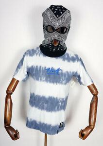 Huf Worldwide Skateboard T-Shirt Tee Shirt High Tide Wash Blue in S