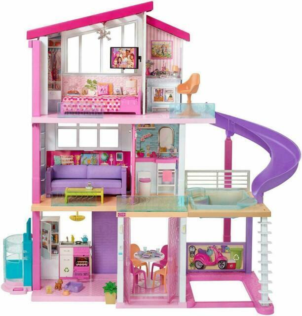 Barbie Dreamhouse Fhy73 Dollhouse For Sale Online Ebay