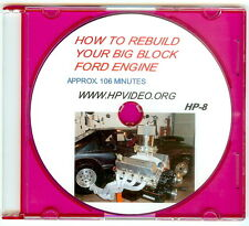 """How to Rebuild your BBF Big Block Ford 429 460/514 532 Engine Video Manual """"DVD"""""""