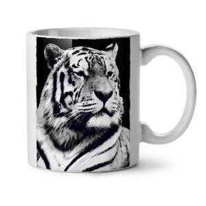 Beast Animal White Tiger NEW White Tea Coffee Mug 11 oz   Wellcoda