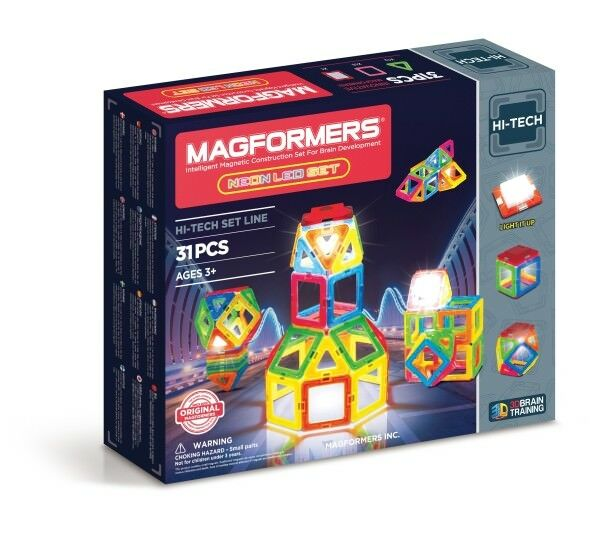 Magformers Neon LED 31 Teile