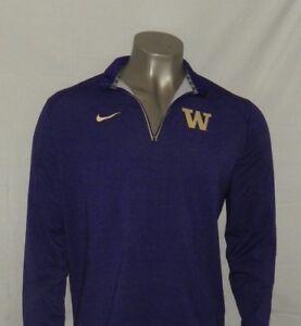 Nike Men s Washington Huskies Game Day Half-Zip Performance Shirt ... 256f333e5