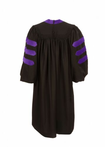 American PhD Doctoral Graduation Gown