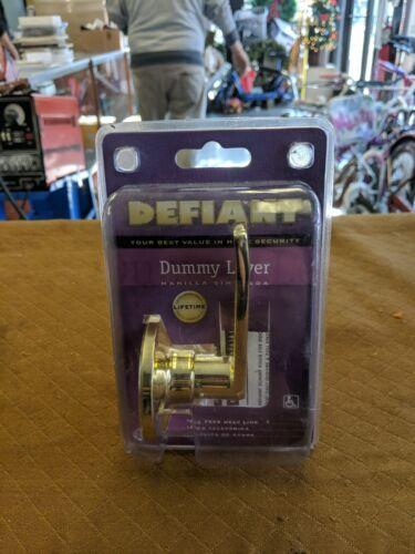 Defiant Dummy Lever Door Handle