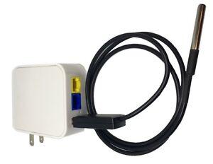 Intelligent Sarmalink Wifi/lan Thermomètre Openwrt Al-net2l-20m Us/eu Plug-afficher Le Titre D'origine
