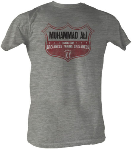 Muhammad Ali Training Camp Greatness Trains Greatness Adult T Shirt Boxing
