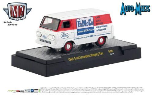 M2 Machines 1:64 Auto Meets Release 49 1965 Ford Econoline Display Van