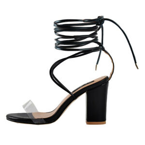 Onlymaker-Womens-Ankle-Strap-High-Heels-Lace-Up-Strappy-Sandals-Shoes-US5-15