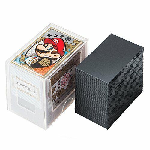 Nintendo Mario Hafuda Carte Noir Japon Neuf