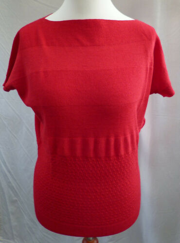 "Femmes-pull de /""singh s Madan/"" rouge taille 36//38"