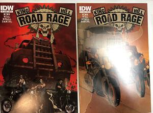 Road-Rage-2012-1A-amp-1B-NM-Stephen-King-Joe-Hill-Tv-Show