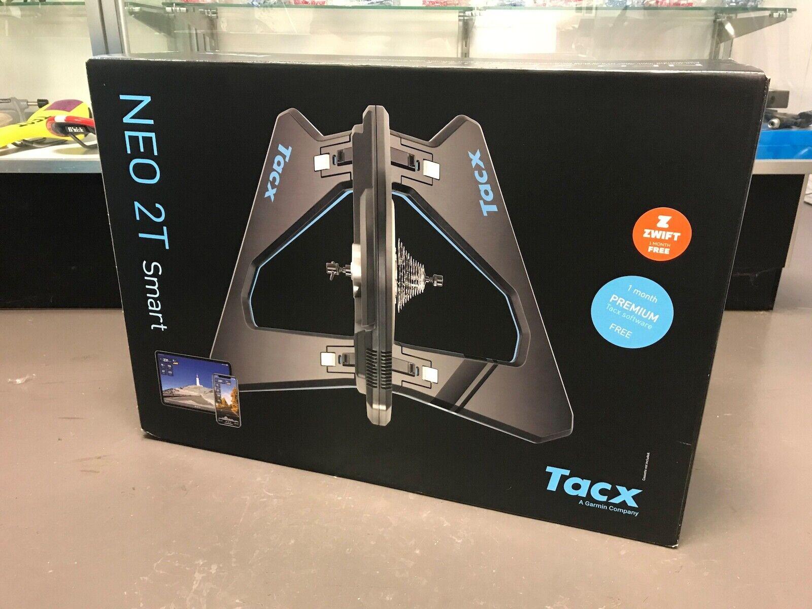 Imagem 1 - Tacx Neo 2T Smart Treinador De Bicicleta interno em estoque e pronto para envio funciona W zwift!