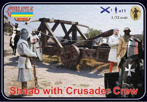 Strelets A010 - Shaab With Crusader Crew - 1:72
