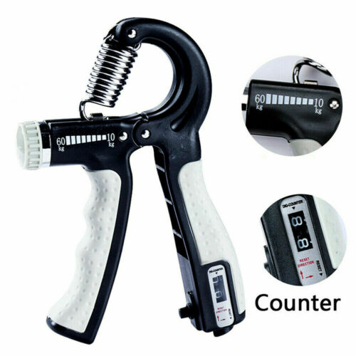 R-Shape Hand Grip Strengthener Finger Exerciser Indoor Therapy Forearm Trainer