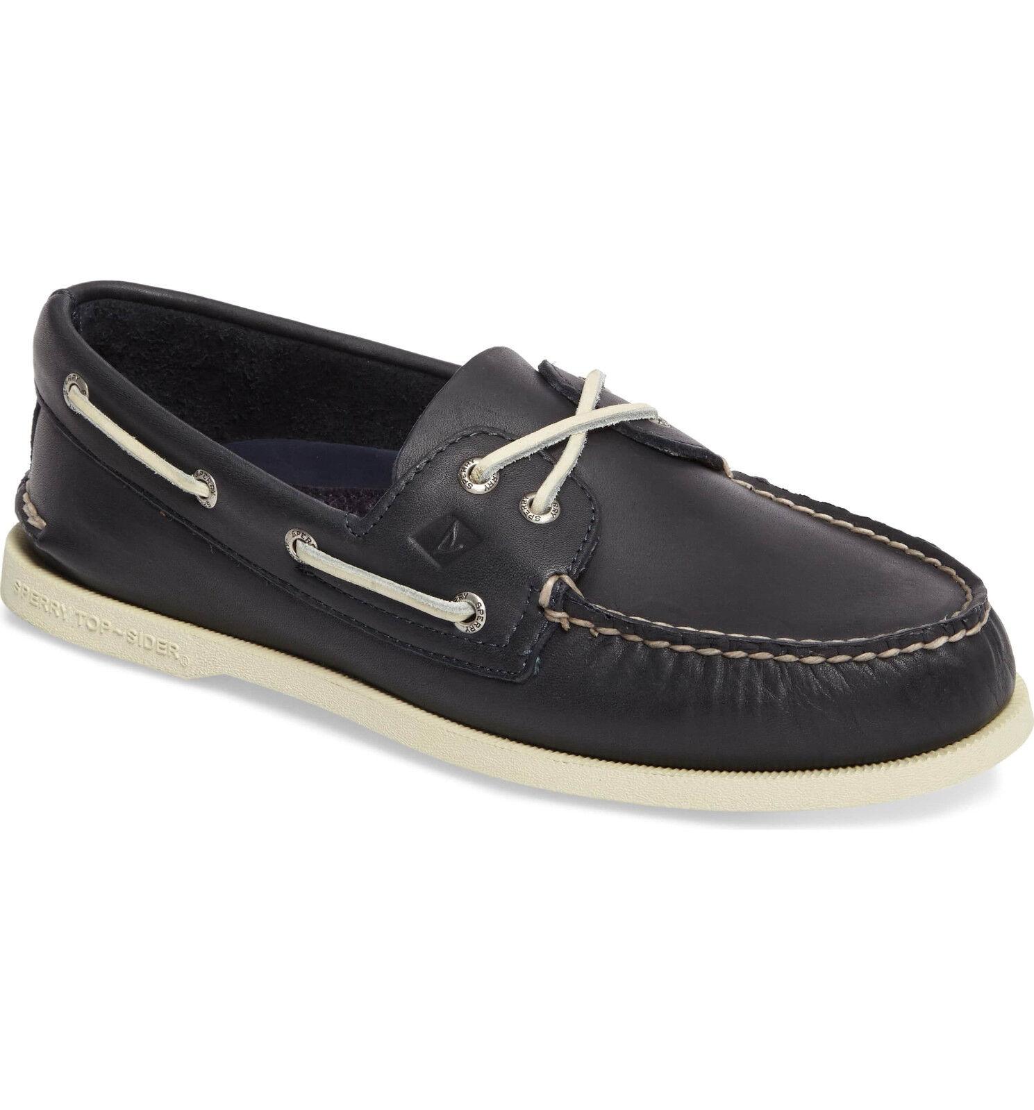 SPERRY Men's Authentic Original Boat shoes,Navy, US Size 12 M