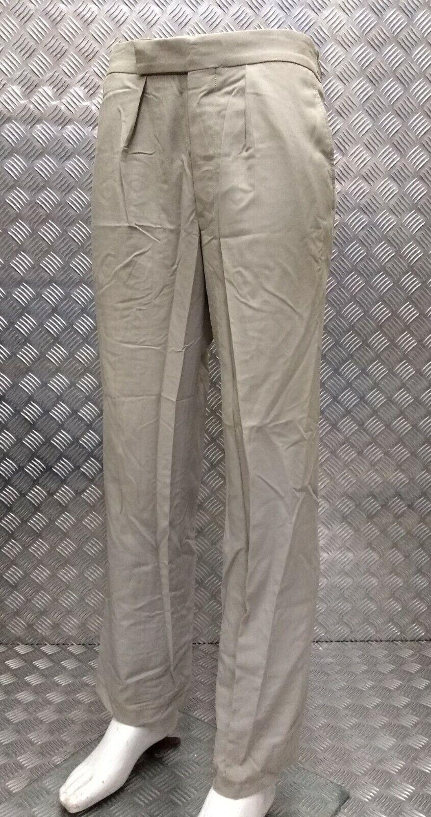 No6 Army Trousers Number Six Uniform Dress Stone / Safari British Issue EBYT501