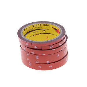 1x-solide-colle-adhesive-double-face-collant-adhesif-avec-doublure-rouge-3M-PL